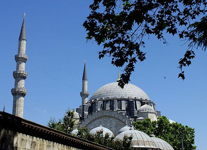 Foto van koepel van moskee