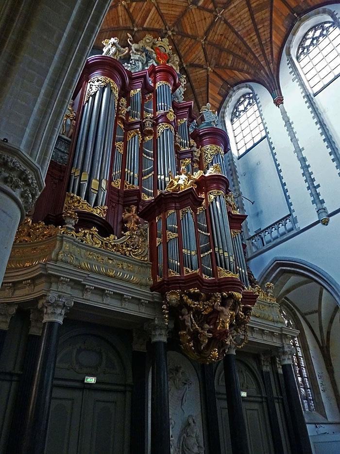 Foto van kerkorgel