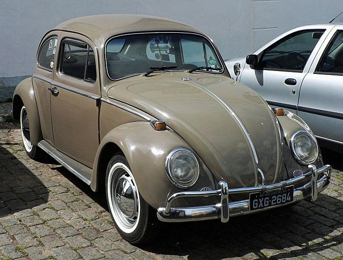 Foto van beige Volkswagen Kever